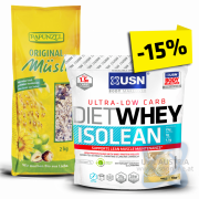 GOOD MORNING Paket Isolean Diet Whey